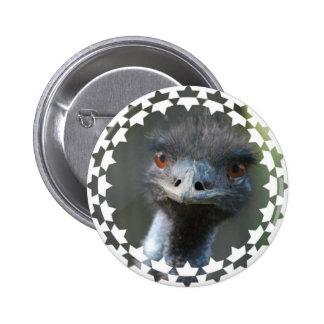 Emu Magnet Button