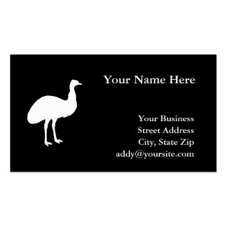 Emu Pack Of Standard Business Cards