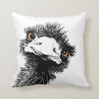 Emu – Pen and Ink Cushion