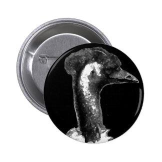Emu Profile 6 Cm Round Badge