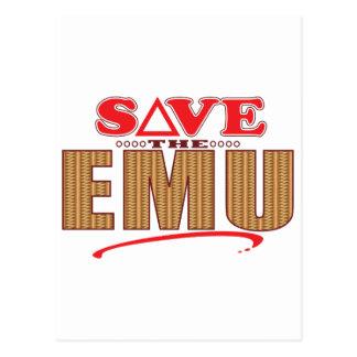 Emu Save Postcard