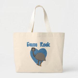Emus Rock Jumbo Tote Bag
