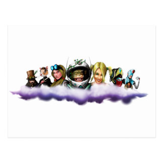 EMYET Characters Postcard