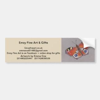 Emzy Fine Art Bumper Sticker