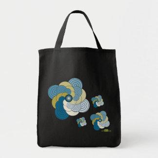 En Espiral azul dorado. Bag