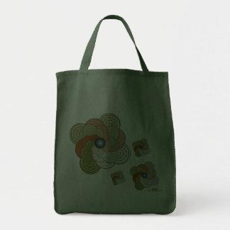 En Espiral verde teja. Bag