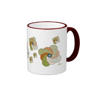 En Espiral verde teja Mod. 2. Mug