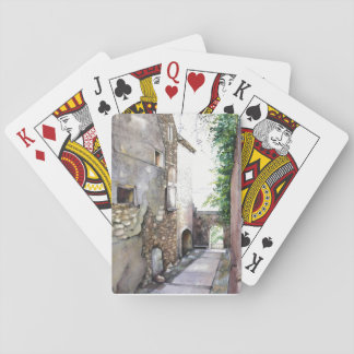 """En Grignan"" Playing Cards, Standard Index faces Playing Cards"