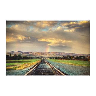 En Route: Pot of Gold Canvas Print