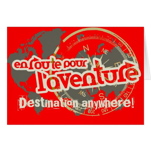 en route pour l'aventure farwell vacation red card