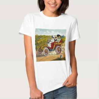 En Tour 1904 Vintage Car Ride Tshirts