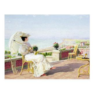 En Vacance Postcard