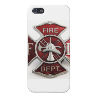 'enamel' fire dept insignia iPhone 5/5S cover