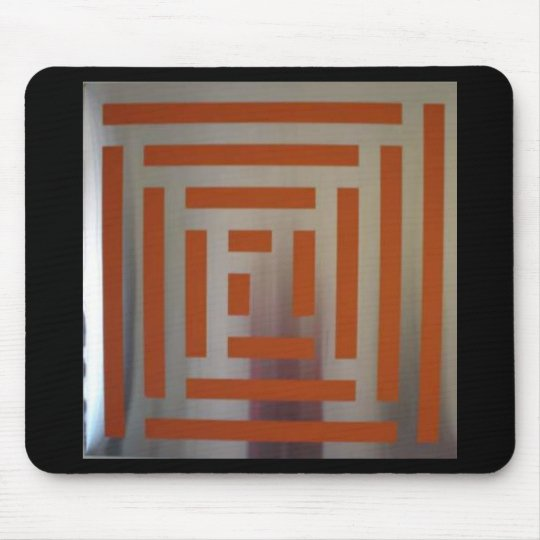 Enamel on Stainless Steel Mouse Pad