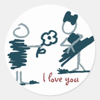 Enamored. Sticker