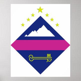 Encamp Andorra Poster