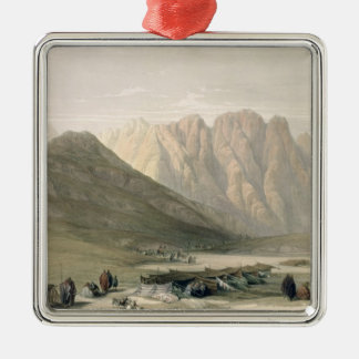 Encampment of the Aulad-Said, Mount Sinai, Februar Christmas Ornament