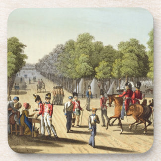 Encampment of the British Army in the Bois de Boul Coaster