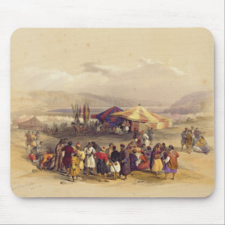 Encampment of the Pilgrims at Jericho' Volume II Mouse Mat