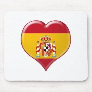 Encanto del Corazón de España Mouse Pad