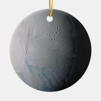 Enceladus Round Ceramic Decoration