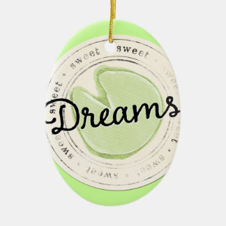 enchant-circle-dreams SWEET BEAUTY MOTIVATIONAL FA Ceramic Oval Decoration