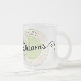 enchant-circle-dreams SWEET BEAUTY MOTIVATIONAL FA Frosted Glass Mug