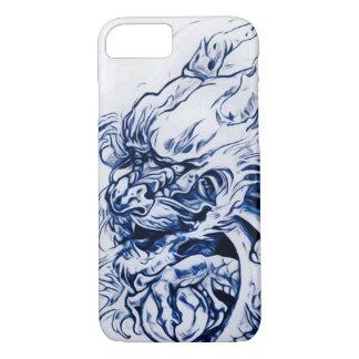 Enchanted Chinese Moon Dragon Art Nouveau iPhone 7 Case