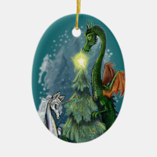 Enchanted Christmas Tree Christmas Ornament