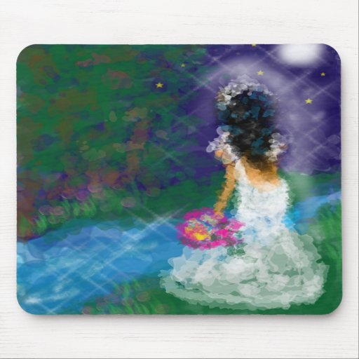 Enchanted Evening Bride Mouse Pad