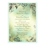 Enchanted Evening Wedding Personalised Announcement
