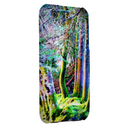 Enchanted Forest Abstract Art Case-Mate Case iPhone 3 Case-Mate Case