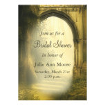 Enchanted Forest Arch Bridal Shower Personalized Invite