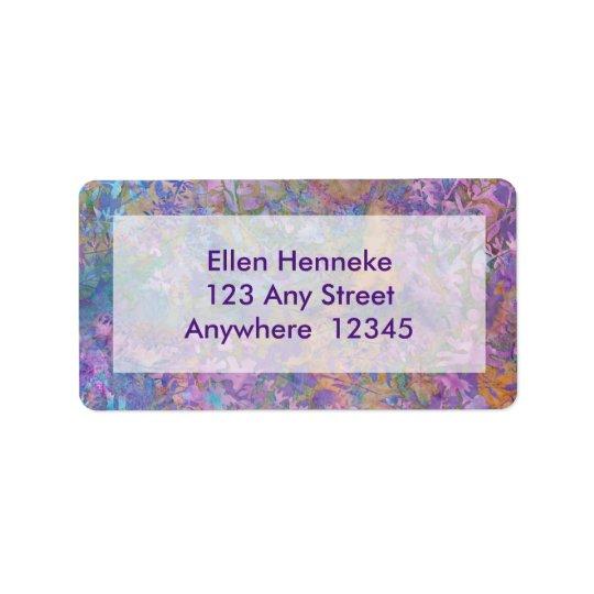Enchanted Forest Batik Label