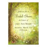 Enchanted Forest Scene Personalised Invitation