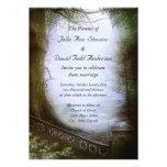 Enchanted Forest Scene Wedding Personalised Invite