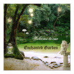 Enchanted Garden or Forest Wedding Invitation