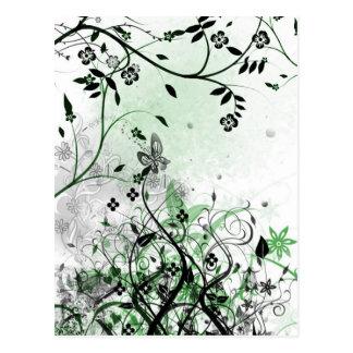 Enchanted Garden - postcard