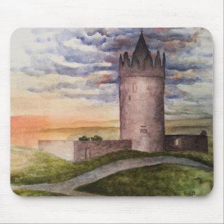 Enchanted Irish castle mouse pad. Mouse Mat