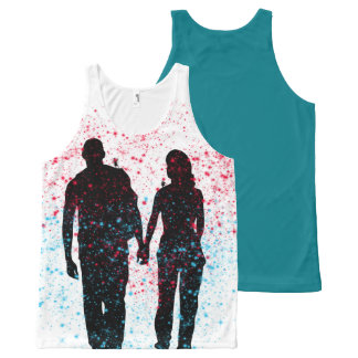 Enchanted Love All-Over Print Tank Top