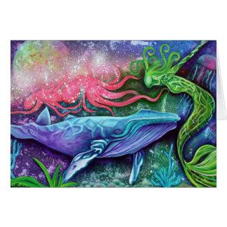 Enchanted Ocean Art Greeting Card