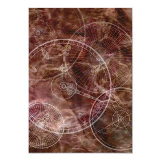 Enchanted Parchment 13 Cm X 18 Cm Invitation Card