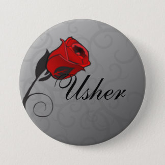 Enchanted Roses Usher Button