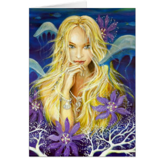 Enchanted Silence Greeting Card