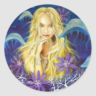 Enchanted Silence Round Sticker
