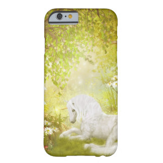 Enchanted Unicorn Forest Magical Kingdom Fantasy Barely There iPhone 6 Case