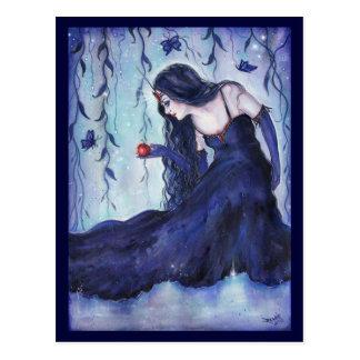 Enchanted visions fantasy art postcard By Renee L.