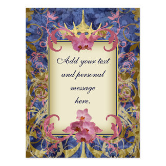 Enchanted Wedding Postcard