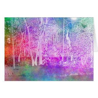 Enchanted Wood Greeting Card