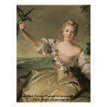 "Enchanting Beauty_1, Jean-Marc Nattier,""Portrai... Poster"